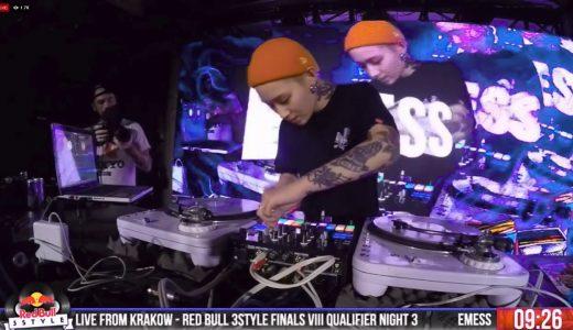 Red Bull Music 3style IX エントリー動画 「韓国」のファイナリスト(6名)