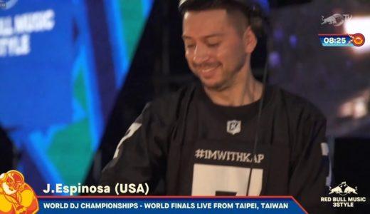 「Red Bull Music 3style IX」アメリカ代表のJ. Espinosaが世界チャンピオンに!
